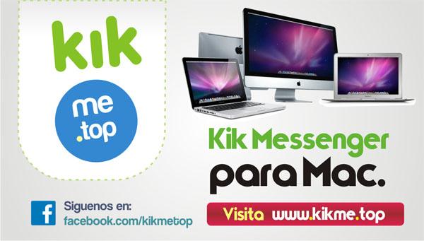 Kik Messenger para Mac
