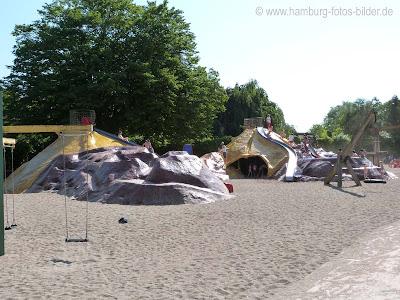 Speilplatz Hamburg in PLanten un Blomen, Kletterburg