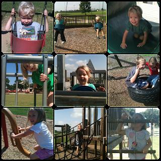 Park Kids Collage