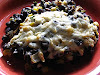 Black Bean & Corn Bake with Cheese Topping