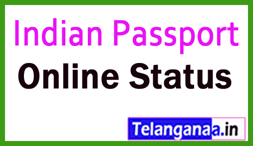 PassPort Application Online Status @ passportindia.gov.in
