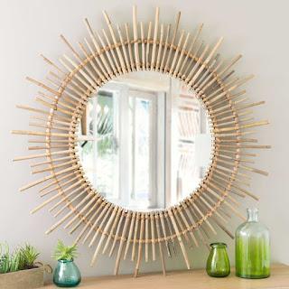 Espelho redondo decorativo