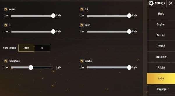 cara mengaktifkan obrolan suara di PUBG Mobile