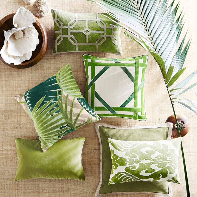 decoracion-inspiracion-greenery-complementos-cojines-williams-sonoma
