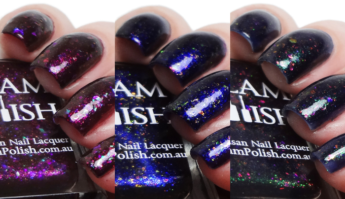 xoxoJen's swatch of Glam Polish Sunnydale Trio (Limited Edition)