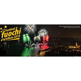 Festival Dei Fuochi D'artificio fino al 26 agosto tra Piemonte, Lombardia e Canton Ticino
