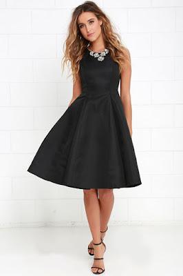 Vestidos sencillos negros