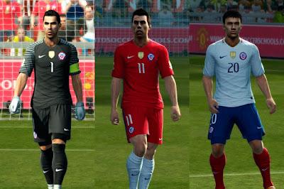 PES 2013 Brazil, Chile GDB Copa America Centenario 2016 UPDATE by ABIEL