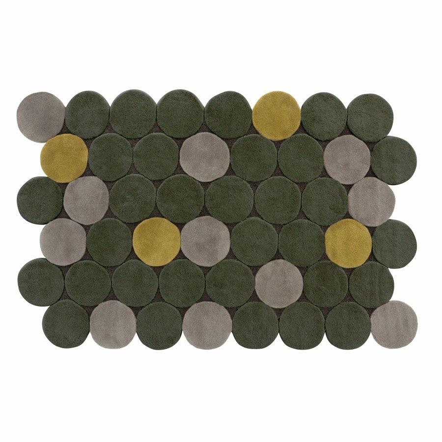 Circulos Rug By Gandiablasco Rectangular Rug With