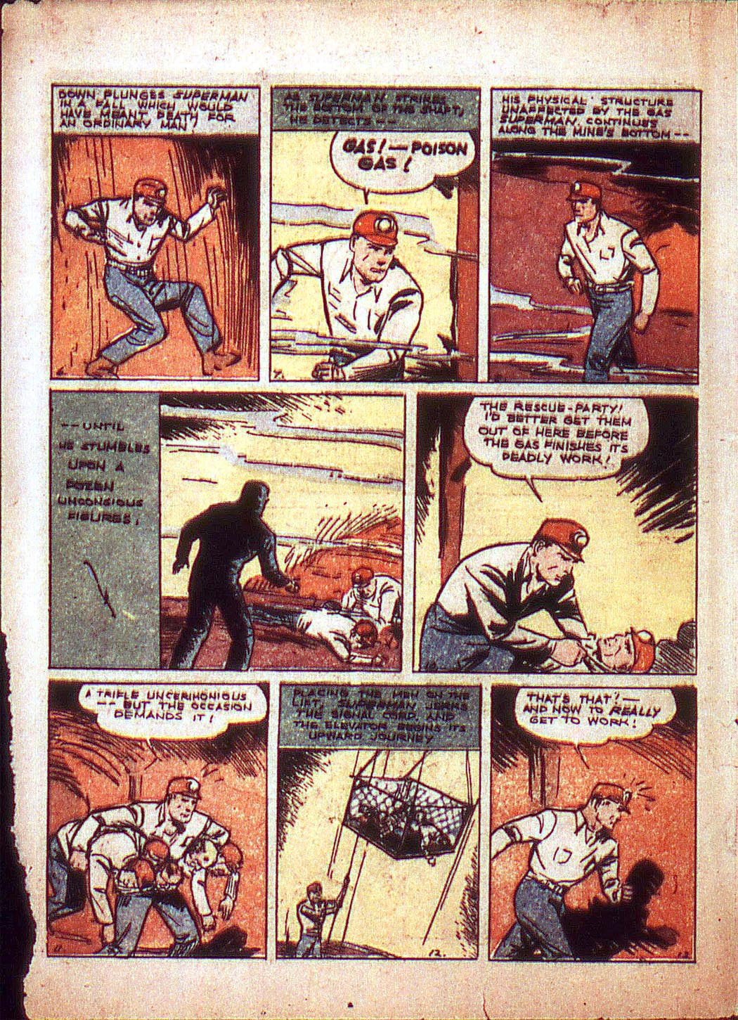 Read online Action Comics (1938) comic -  Issue #3 - 4