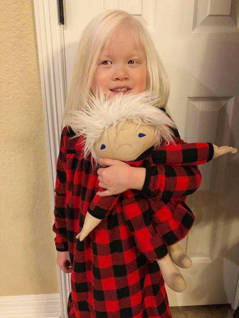 A Woman Creates Dolls For Children That Differ
