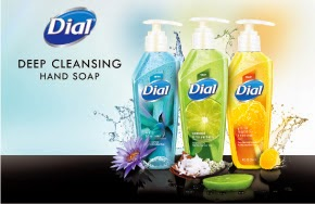 dial deep cleaning hand soap