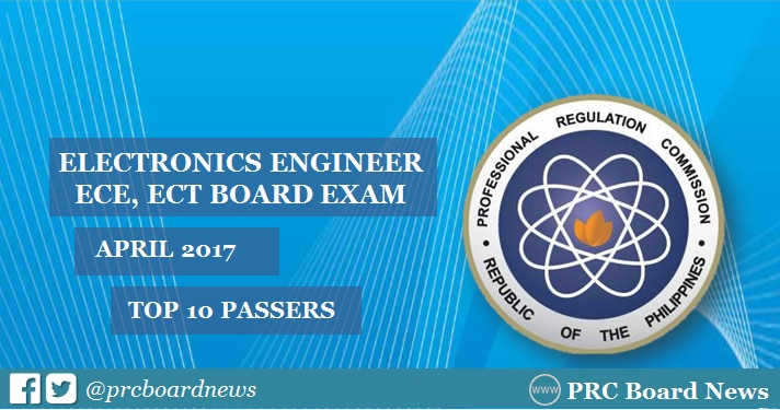 April 2017 ECE board exam top 10