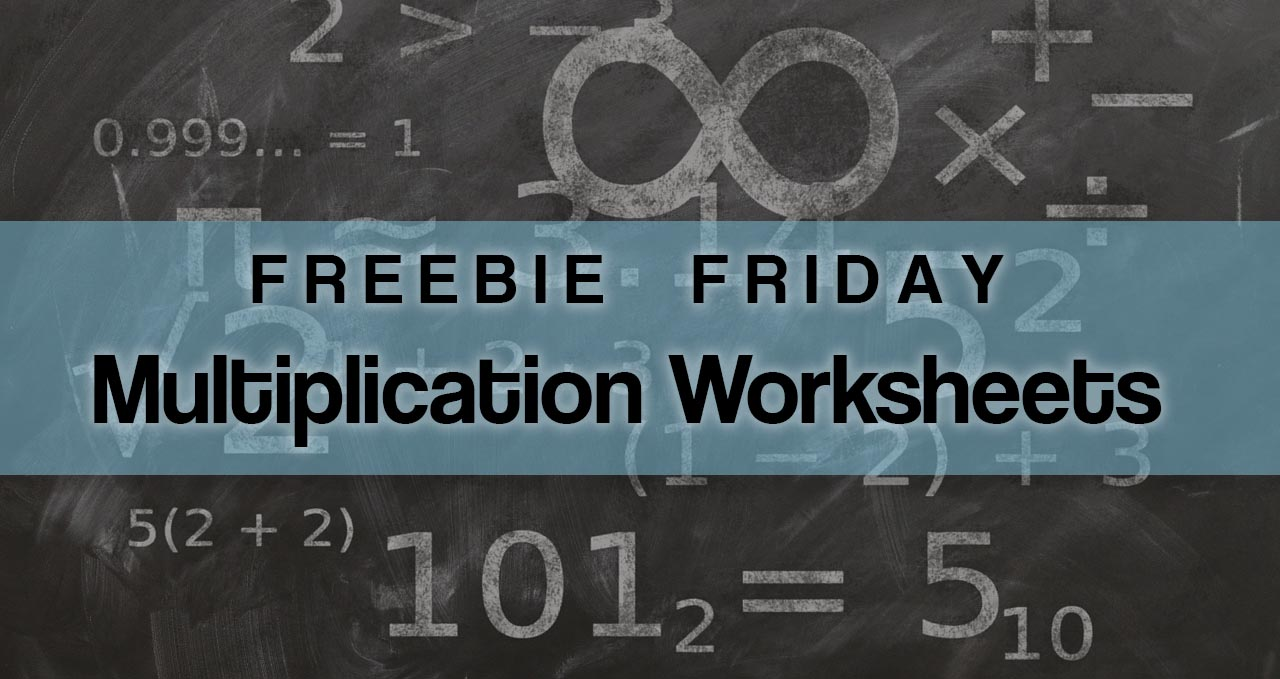 Lion Cub School Freebie Friday   Free Multiplication Worksheets