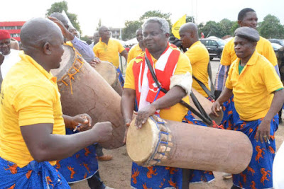 Africa drum festival holds in Nigeria