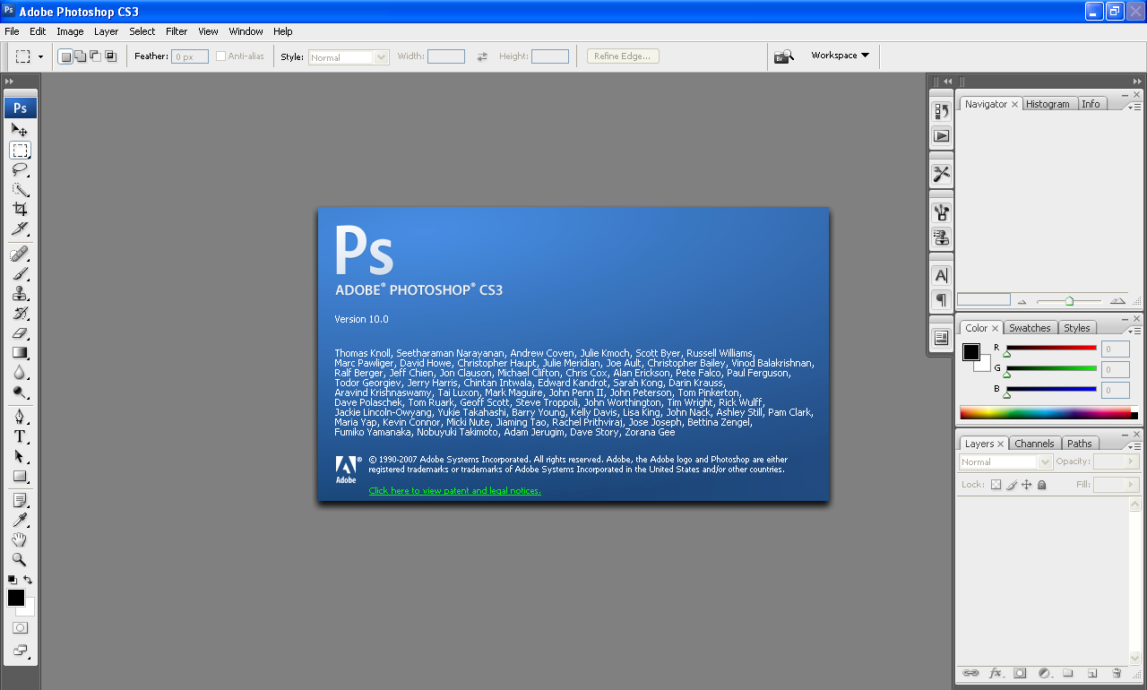 Photoshop cs3 portable, cracked download, no installation needed.