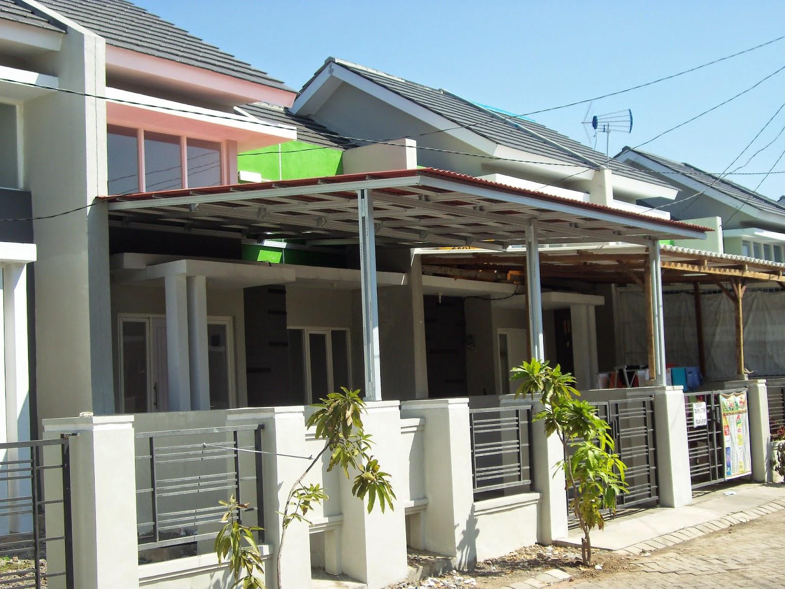 canopy baja ringan minimalis kanopi atap spandek sidoarjo kelebihan