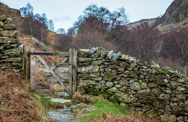 The path towards Watendlath Beck, Lake District