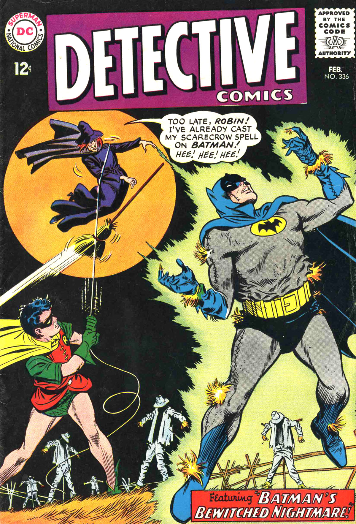 Detective Comics (1937) 336 Page 0