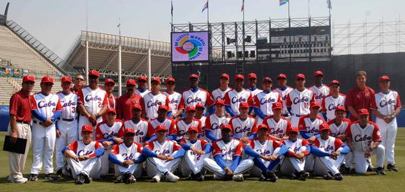 Se trata del equipo Cuba que asistió al segundo Clásico Mundial, celebrado en el año 2009