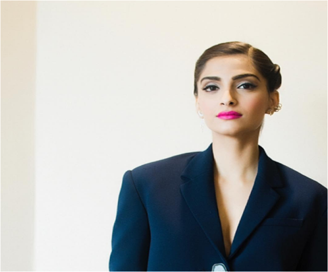 Spotted: Sonam Kapoor in Aurelle By Leshna Shah Jewellery