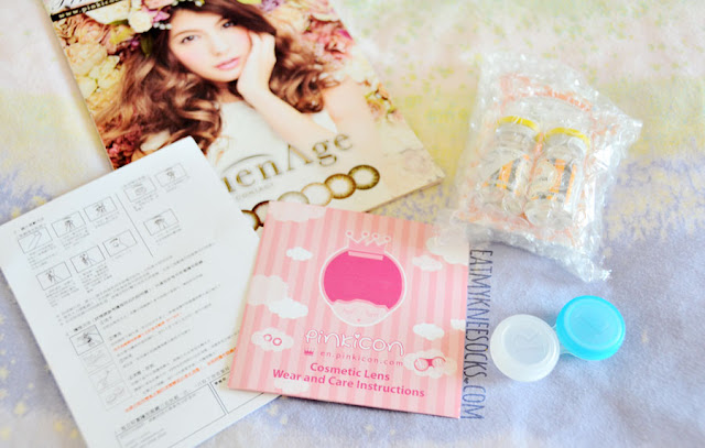 Review of the O-Lens BaviPhat 3 Color Gray Korean circle lenses from Pinkicon, a Hong Kong-based beauty store selling Asian cosmetics, contact lenses, skincare products, wigs, and more!
