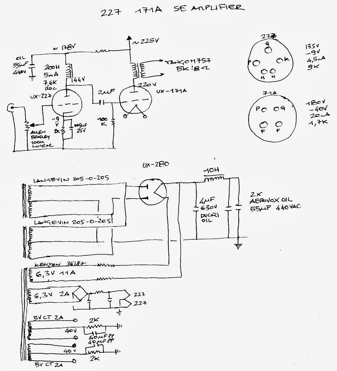 Doityourselfaudio 27 71a Single Ended Amplifier