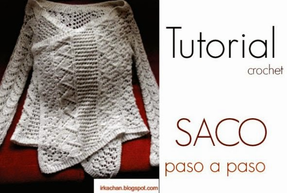 Saco-Chaqueta con un rectangulo Tutorial