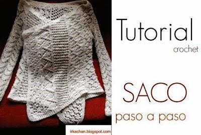 Saco-Chaqueta con un rectangulo Tutorial