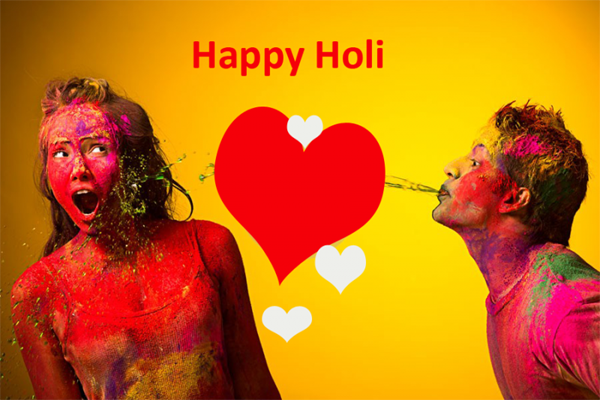 happy holi romantic images