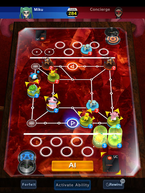 Pokemon Duel iOS game
