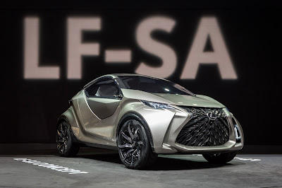 Lexus LF-SA 2018 Review, Specs, Price