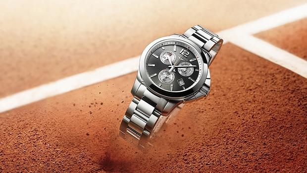 Roland Garros ya tiene reloj oficial para mujer