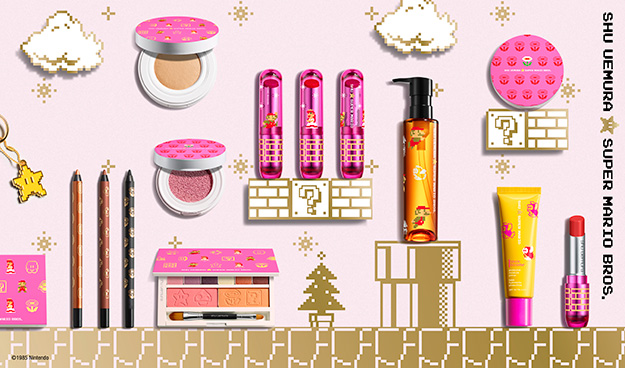 Shu Uemura x Super Mario Bros Collection