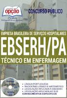 Apostila Ebserh Pará HU UFPA Técnico em Enfermagem