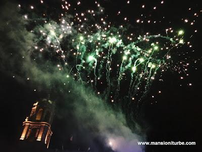 """Pirotecnía en """"K'uinchekua"""" la Fiesta Grande de Michoacán"""