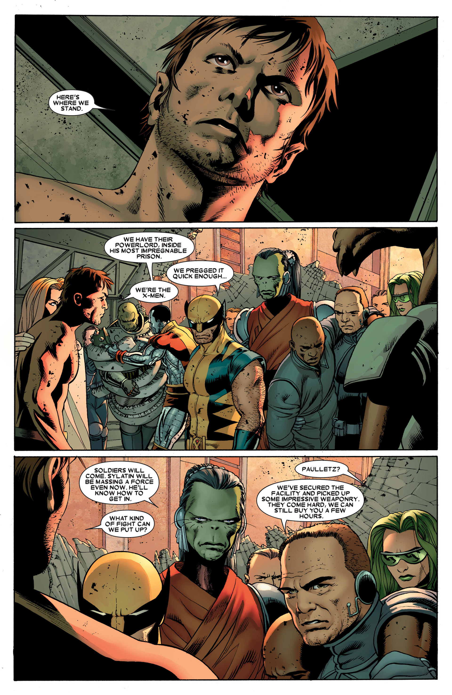 Read online Astonishing X-Men (2004) comic -  Issue #24 - 2
