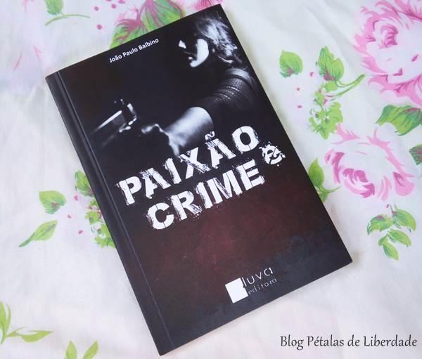livro, paixao-e-crime, policial