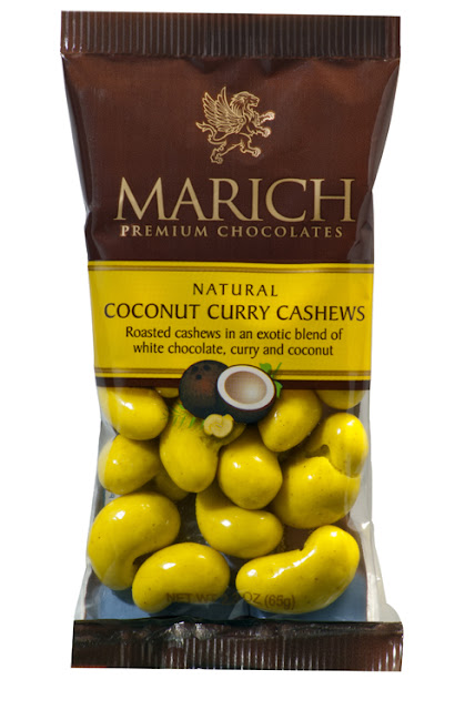 Eating Fabulously, Christopher Stewart, Marich Coconut Curry Cashews