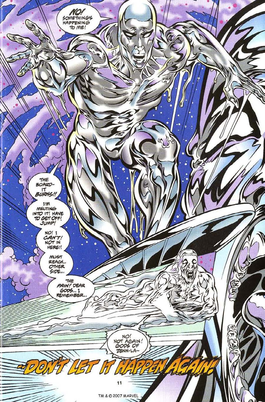 Silver Surfer (1987) Issue #112 #120 - English 13
