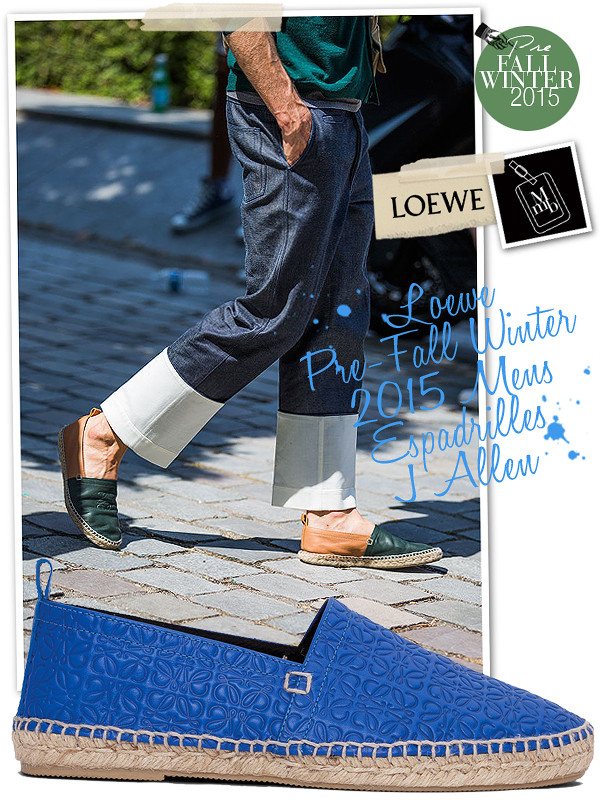 24df4cb76 Below: Comes in leather, suede and canvas/leather options as well... Loewe  Espadrilles John Allen
