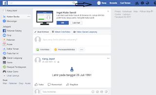 Cara Daftar akun Facebook dengan mudah dan Lengkap dengan Gambar