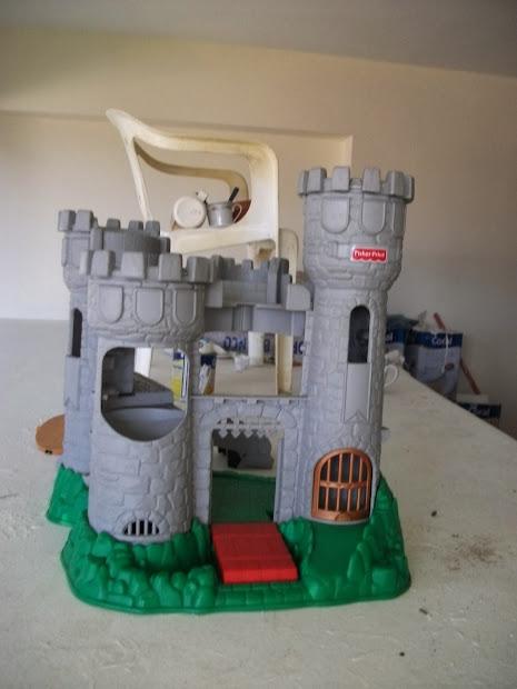 Dioramas 1 18 Castelo Medieval Da Fisher