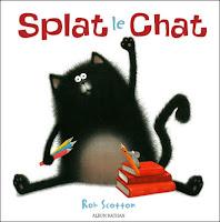 Exploitation pédagogique en maternelle Splat le Chat