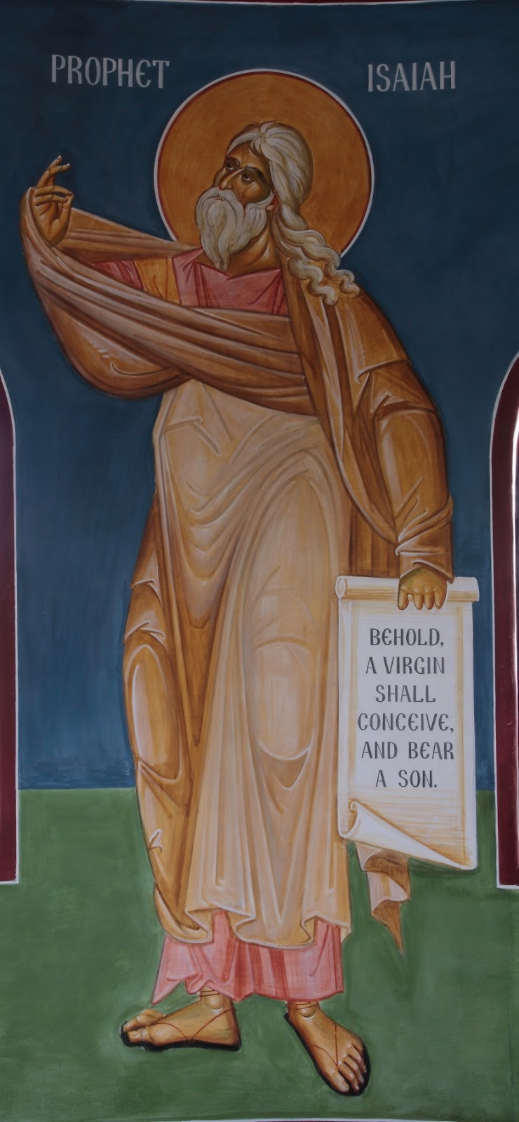 Whispers of an I...Prophet Isaiah Icon