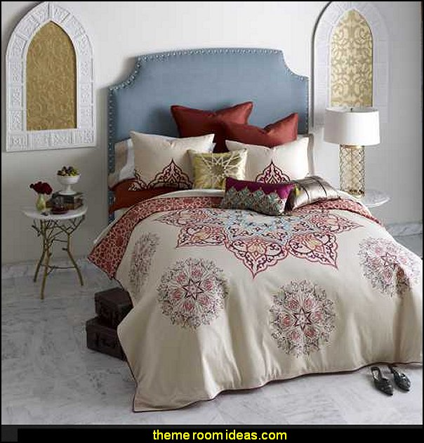 Bliss Living Home Chanda Bedding  Moroccan decorating ideas - Moroccan decor - Moroccan furniture - decorating Moroccan style - Moroccan themed bedroom decorating ideas - Exotic theme decorating - Sultans Palace - harem style bedrooms Arabian nights Moroccan bedroom furniture - moroccan wall decoration ideas