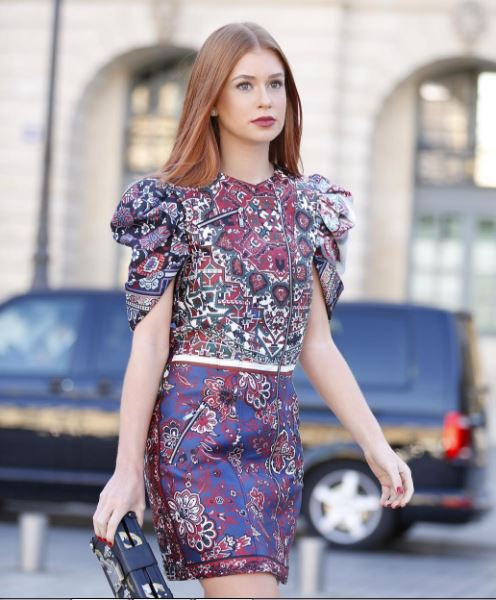 Marina Ruy Barbosa, look em evento em Paris