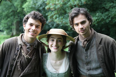 Poldark S3, Harry Richardson, Ellise Chappell, Tom orke, Drake, Morwenna, Sam Carne