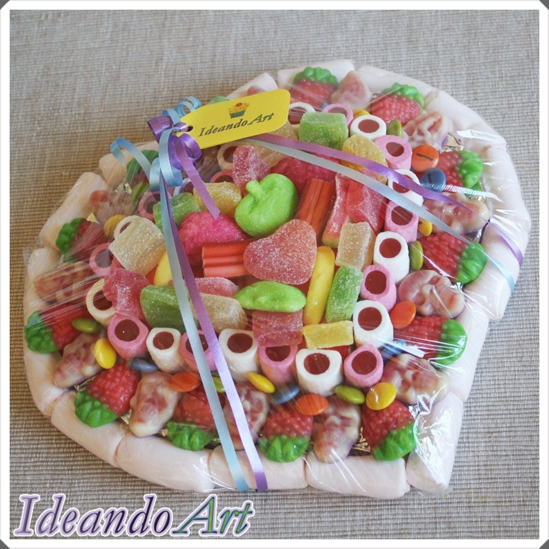 Tarta chuches DIY